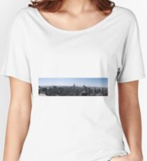Manhattan Island. Women's Relaxed Fit T-Shirt