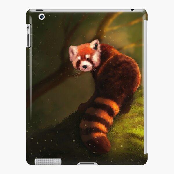 Illustration of Red Panda. Digital painting iPad Snap Case
