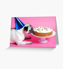 OH YES... C A K E Greeting Card