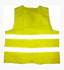 Lámina fotográfica Gilet Jaune - Chaquetas de chaleco amarillo - Gilets Jaunes