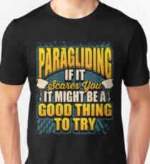 Paragliding Skydiving Parachute Unisex T-Shirt