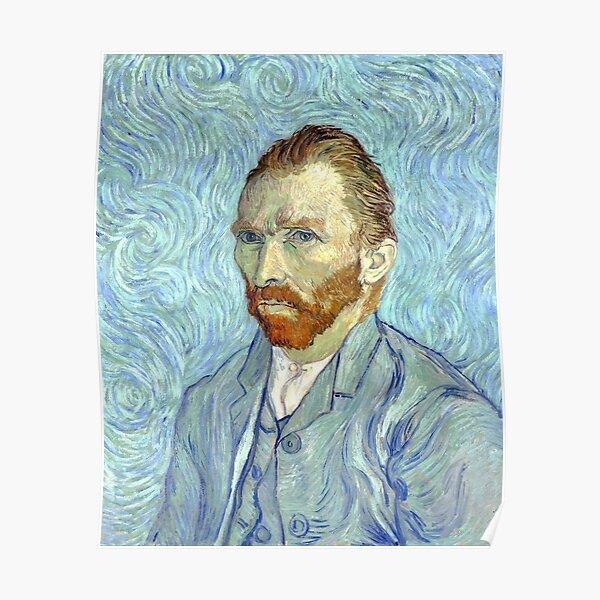 Selbstbildnis von Vincent Van Gogh Poster
