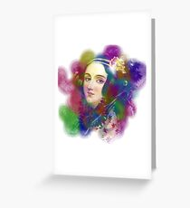 Ada Lovelace - Computing Algorithm Pioneer Greeting Card