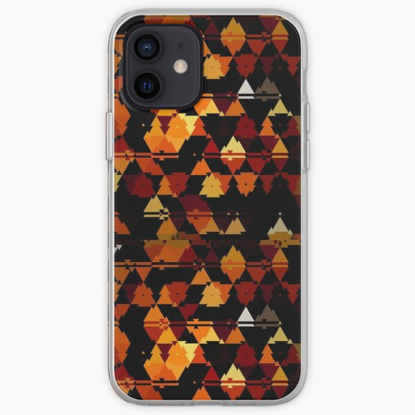 Abstract geometric pattern iPhone Soft Case