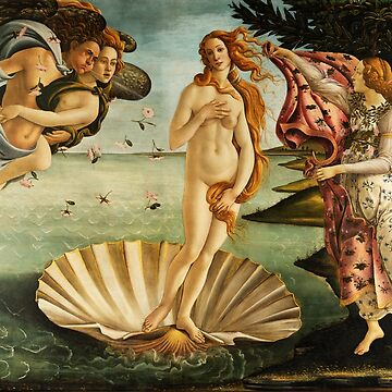 The Birth of Venus by Botticelli by fourretout