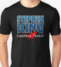 Stephen King Constant Reader Unisex T-Shirt