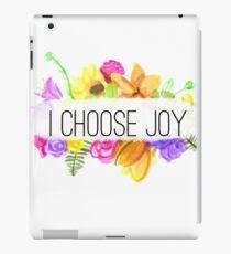 I Choose Joy iPad Case/Skin