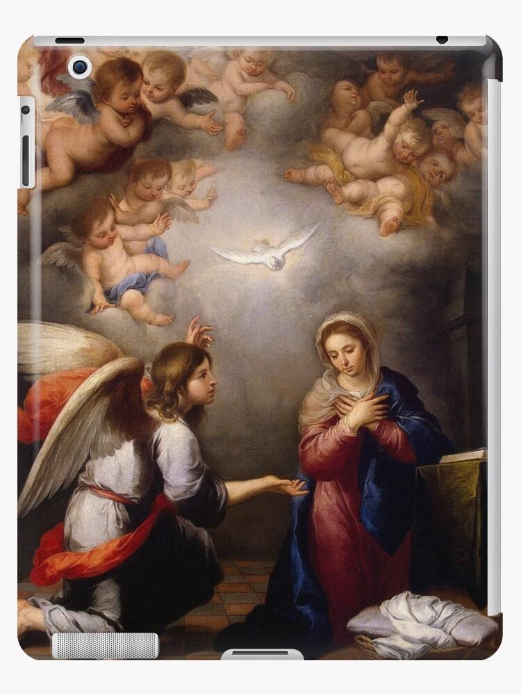 Vinilo O Funda Para Ipad La Anunciacion De Angel Gabriel A Maria De Leonid Bozio