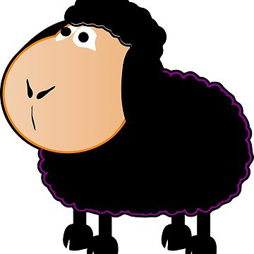 Woko the black sheep by Cocotteetloulou