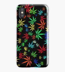 Juicy Marijuana Leaves iPhone Case/Skin
