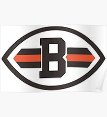 Cleveland browns Logo 2 Poster