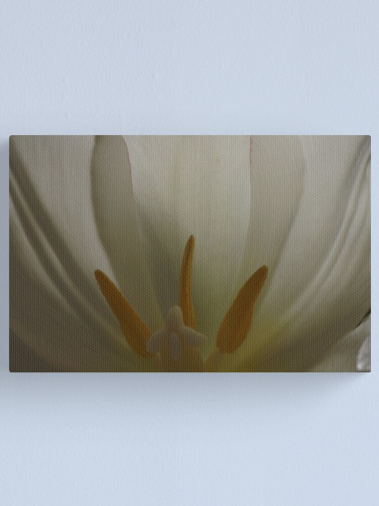Alternate view of Inside the Tulip (2) Canvas Print