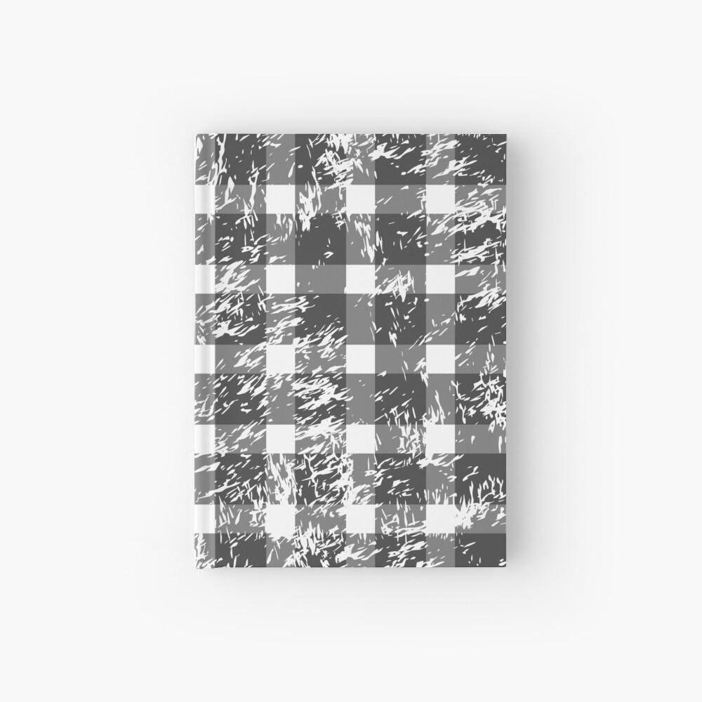 Snowy Buffalo Plaid Hardcover Journal