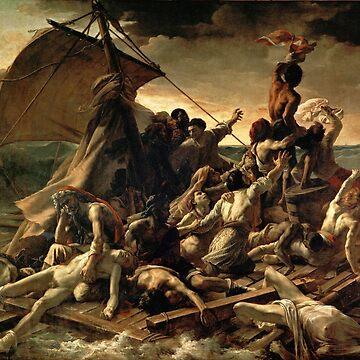 The Raft of the Méduse de Géricault by fourretout