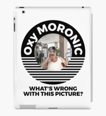 Oxymoronic whats wrong with this picture iPad Case/Skin