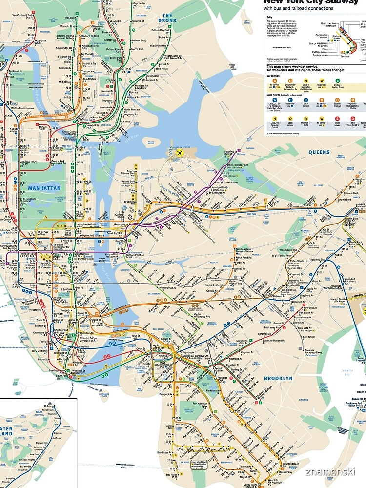 #NY #subway #map #famousplace #BrooklynBridge #CityHall #ChambersStreet #NewYorkCity #USA #map #cartography #topography #travel #country #guidance #vector #graph#colorimage #newyorkstate #NYSubwayMap by znamenski