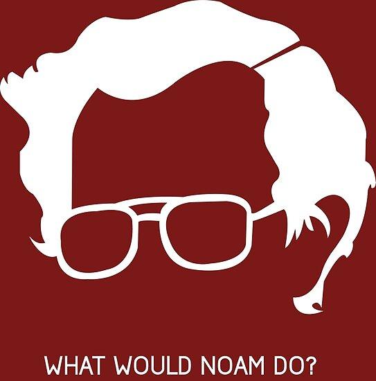 Noam Chomsky by Ginger Alen