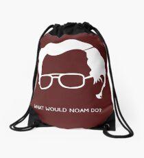 Noam Chomsky Drawstring Bag