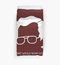 Noam Chomsky Duvet Cover