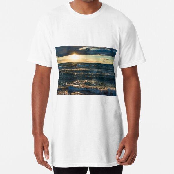 Lake Huron Storm Long T-Shirt