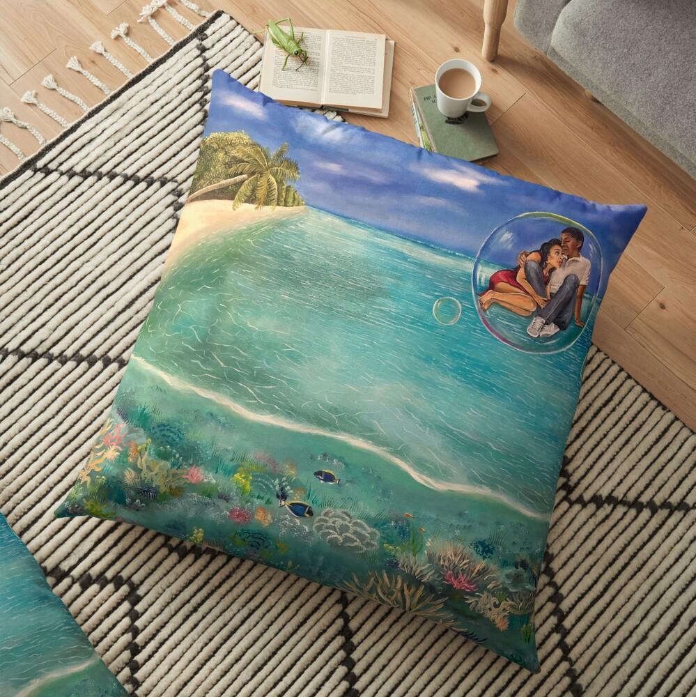 Runaway Floor Pillow