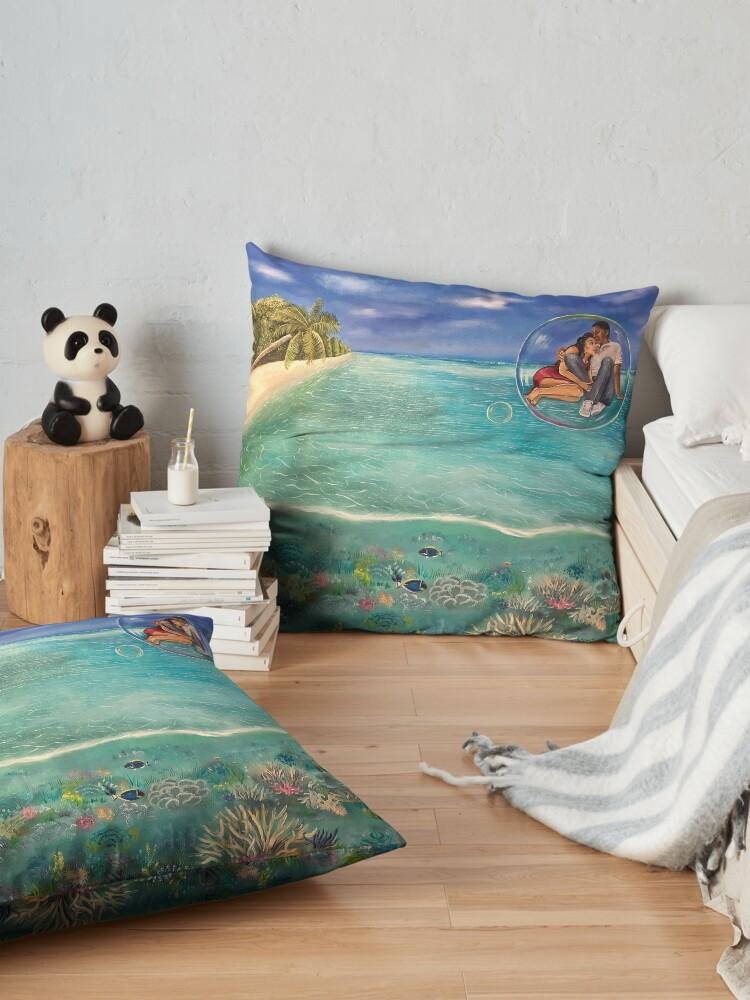 Alternate view of Runaway Floor Pillow