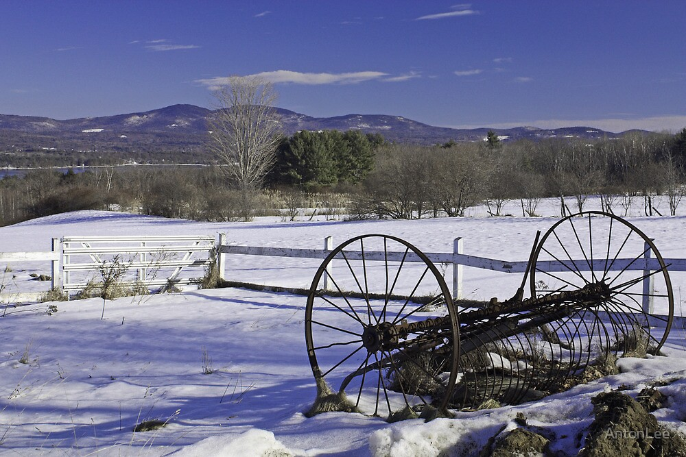 Wagonwheel Mountain Blues by AntonLee