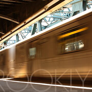 Brooklyn, NY Train by Vanpinni