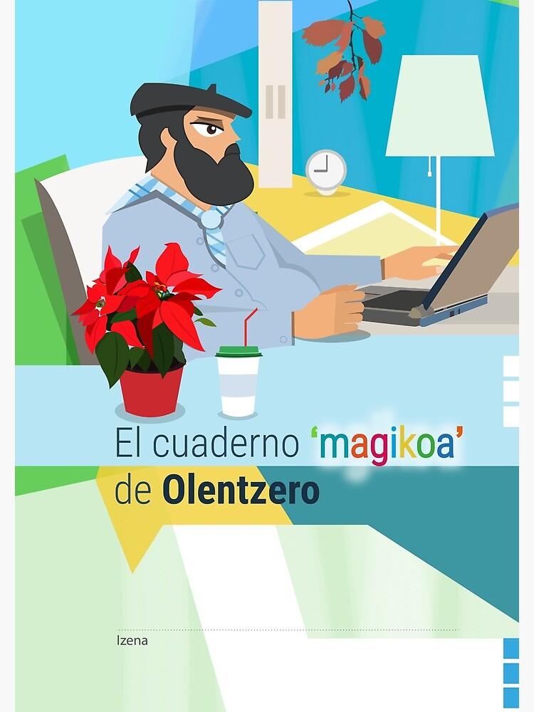 El cuaderno 'magikoa' del Olentzero de robert-tv