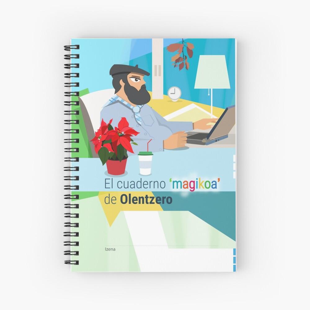 El cuaderno 'magikoa' del Olentzero Cuaderno de espiral