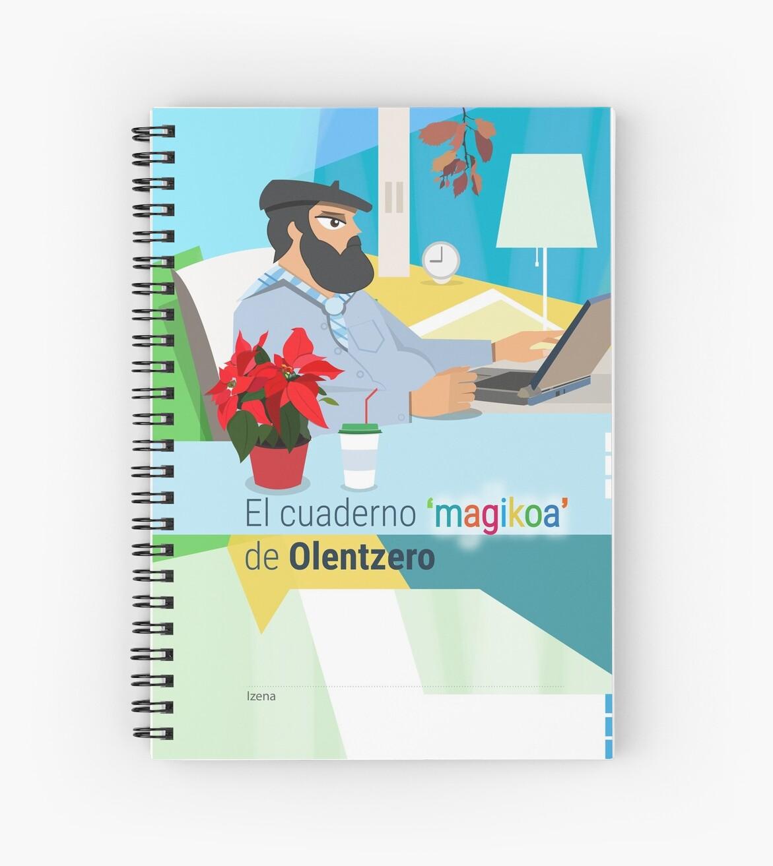 «El cuaderno 'magikoa' del Olentzero» de robert-tv