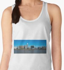 Docklands panorama with Ontario Tower and New Providence Wharf. London. England. Women's Tank Top