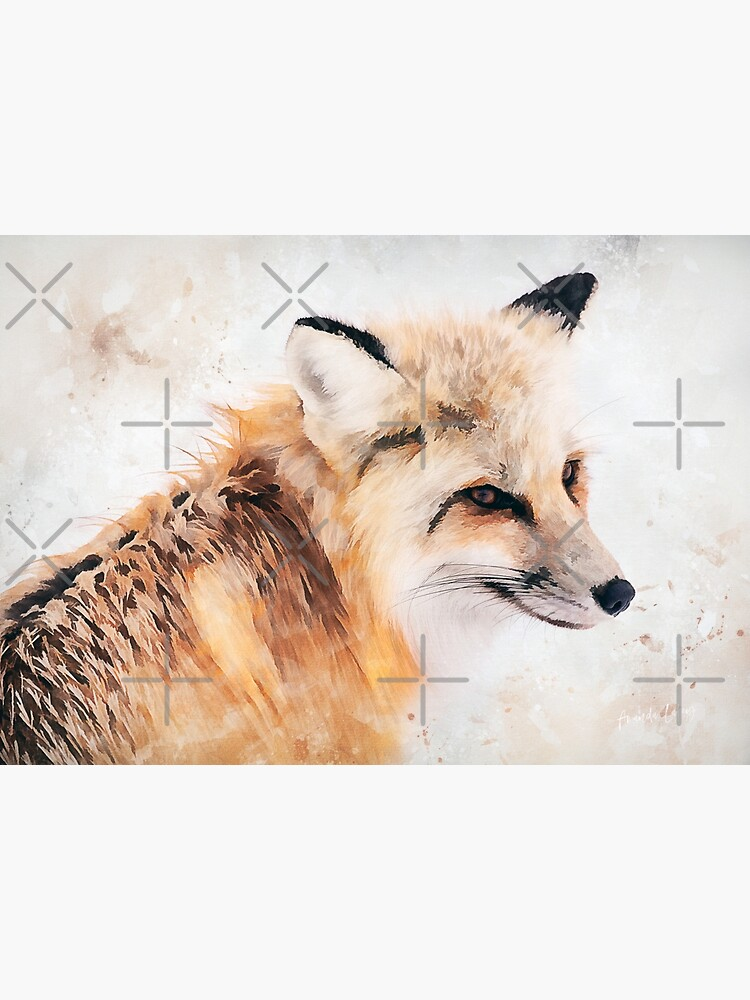 Painted Fox by Amanda-Lakey