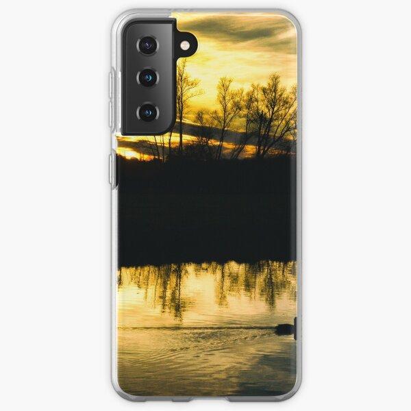 Flatford Mill Sunset (Vintage) Samsung Galaxy Soft Case