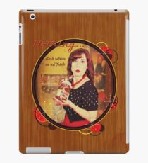 Nothing...stands between me and Nutella iPad Case/Skin