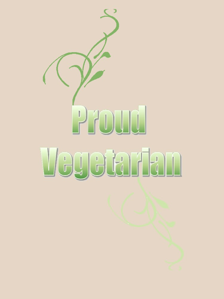 Proud Vegetarian by PrettyNickie