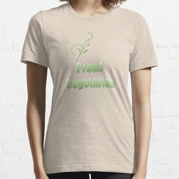 Proud Vegetarian Essential T-Shirt