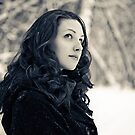 Winter is on my head by Cadence Gamache