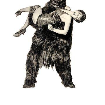King Kong von mickaelcorreia