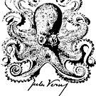 Jules Verne Signature - Sea Monster Octopus 1 by EDDArt