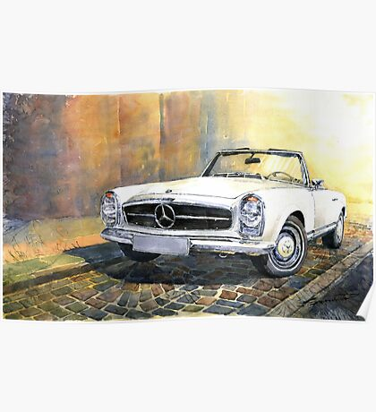 Mercedes benz 280 posters redbubble for Mercedes benz poster