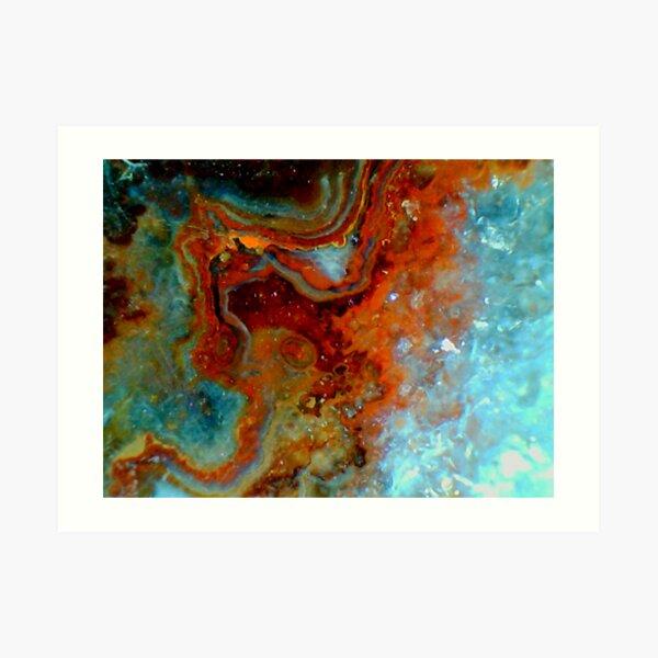 Octophant (Quartz) Art Print