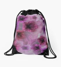 Petunia Shades Drawstring Bag