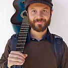 Guitar man by Chris Dowd