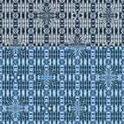 «Crestas de dos tonos azul» de Lori Kingston
