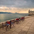 Seats by The Tagus by Viv Thompson