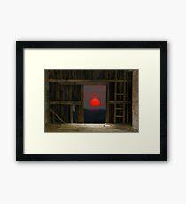 Shining Through Framed Print