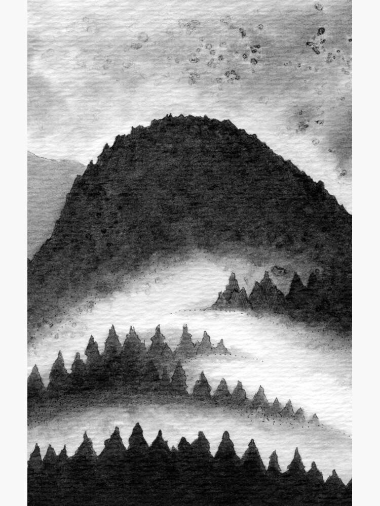 Foggy Forest by OzureFlame
