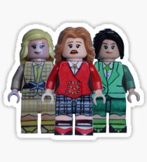 The Heathers - Heathers the Musical - Broadway Bricks Sticker