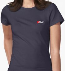 Audi S4 Quattro Logo Women's Fitted T-Shirt